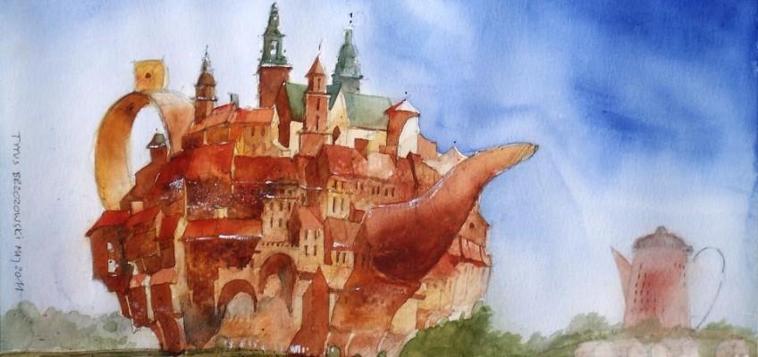 Watercolor by Tytus Brzozowski 15