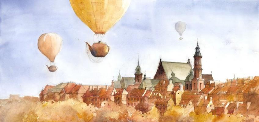 Watercolor by Tytus Brzozowski 16