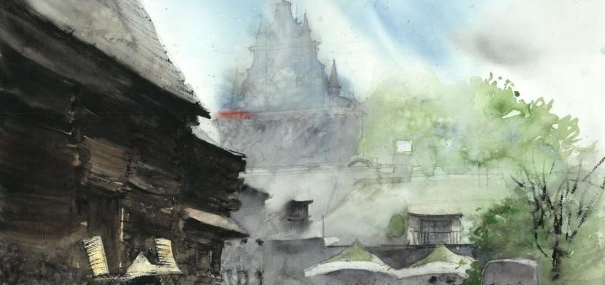 Watercolor by Tytus Brzozowski 17