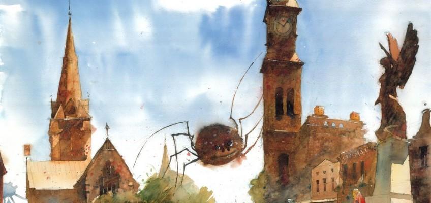 Watercolor by Tytus Brzozowski 18