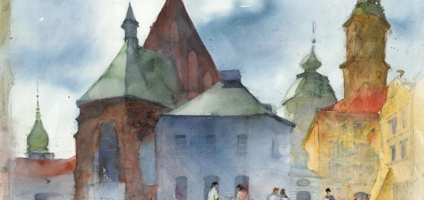 Watercolor by Tytus Brzozowski 19