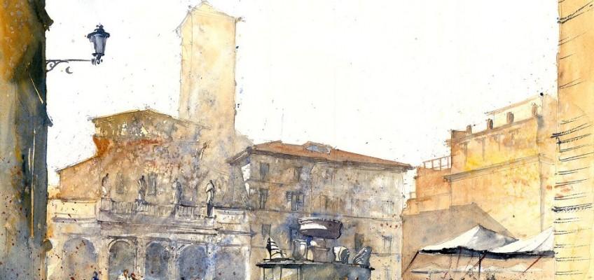 Watercolor by Tytus Brzozowski 20