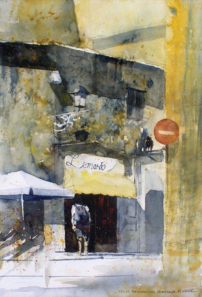Watercolor by Tytus Brzozowski 21