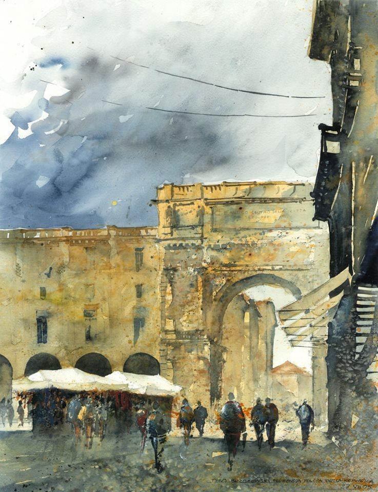 Watercolor by Tytus Brzozowski 22