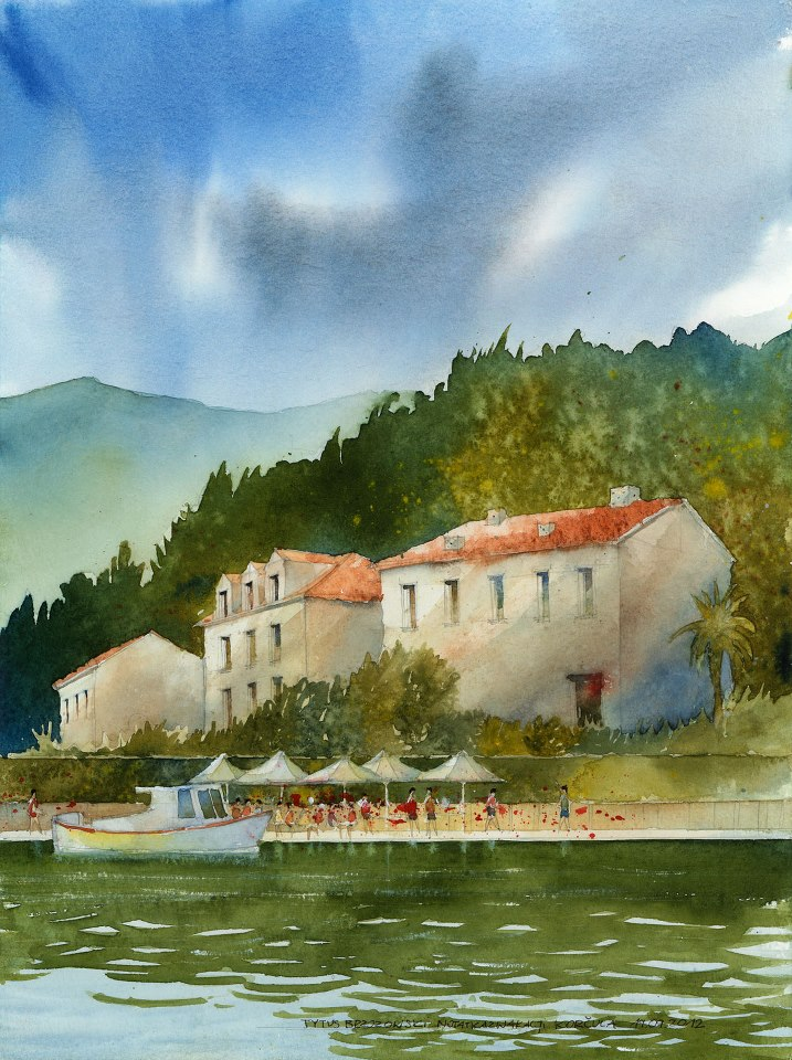 Watercolor by Tytus Brzozowski 3