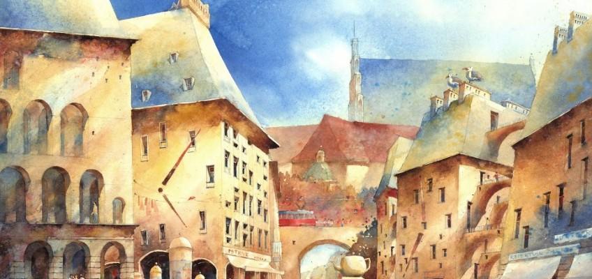Watercolor by Tytus Brzozowski 4