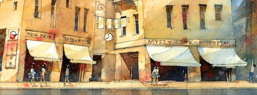 Watercolor by Tytus Brzozowski 5