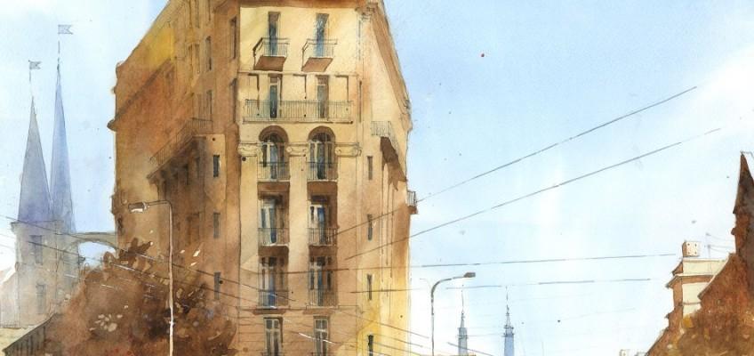 Watercolor by Tytus Brzozowski 6 detail2