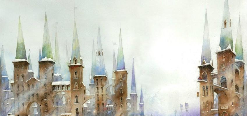 Watercolor by Tytus Brzozowski 7