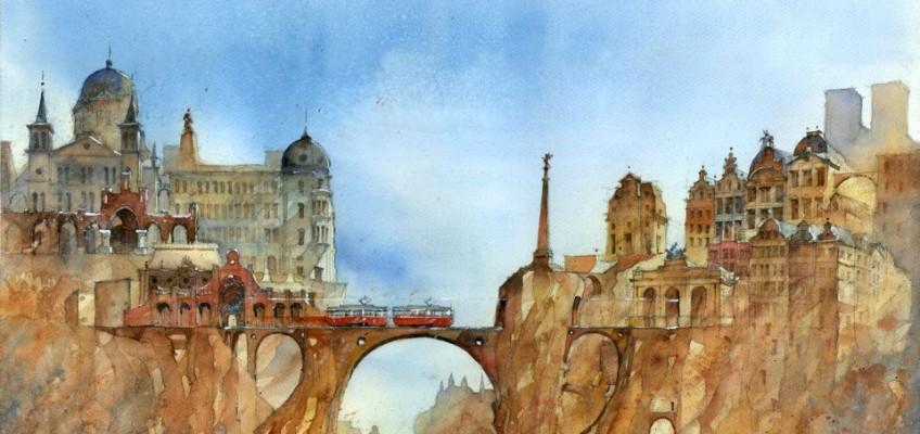 Watercolor by Tytus Brzozowski 8