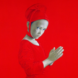 Bold Saturated Paintings by Salustiano